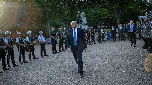 Police did not clear Lafayette Square so Trump could hold 'Bible' photo op: Watchdog
