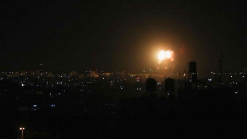 Israel bombs Gaza City in 2nd day of strikes since breaking cease-fire