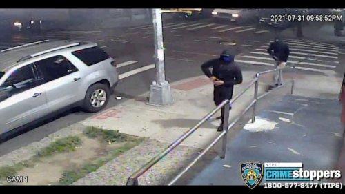 Gun-wielding masked men shoot 10 in New York City attack, speed off on mopeds