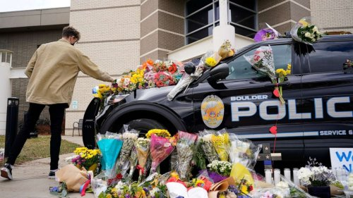 Boulder mass shooting victims remembered, including police officer, future grandpa