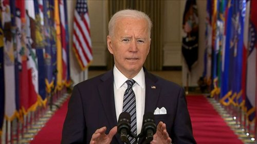 In address, Biden directs that all adults be eligible for COVID-19 vaccine by May 1