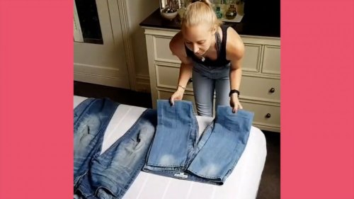 These clothes folding hacks are showing us we've been doing it wrong all along