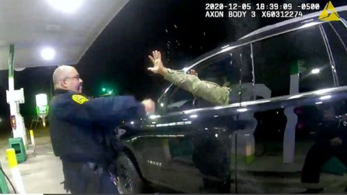 Police pull guns on and spray Black-Latino Army officer during traffic stop, lawsuit says