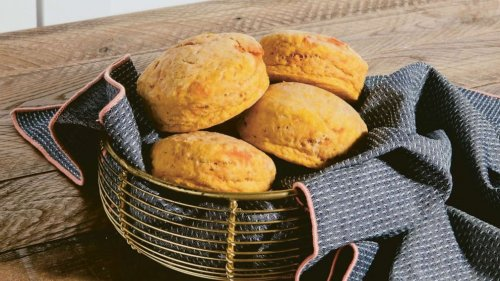 Make these sweet potato coconut biscuit recipes from the 'Black Food' cookbook