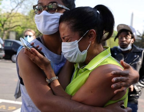 Photos: America reacts to Derek Chauvin trial verdict