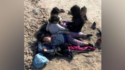 5 young migrant children, including an 11-month-old, found abandoned at US-Mexico border