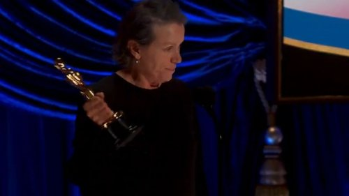 Frances McDormand wins Best Actress for her work in Oscars Best Picture 'Nomadland'