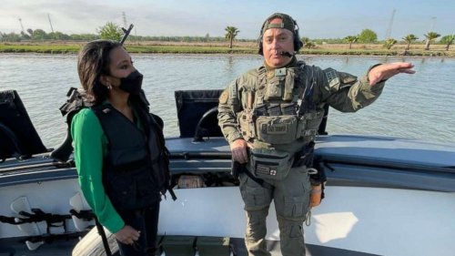 Patrolling the Rio Grande for migrant crossings: Reporter's Notebook