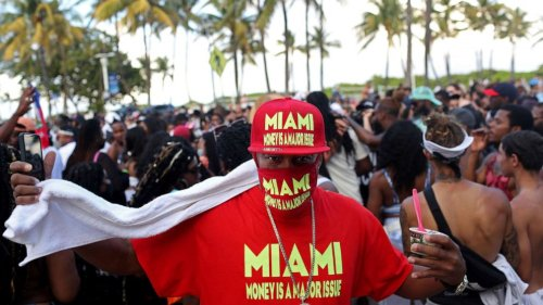 Miami Beach residents protest outside City Hall over chaos caused by spring breakers