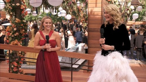 Reese Witherspoon, Laura Dern speak on excitement to be at the Oscars