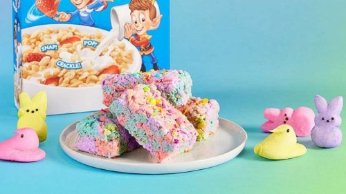 Peeps Rice Krispies treats are perfect for Easter