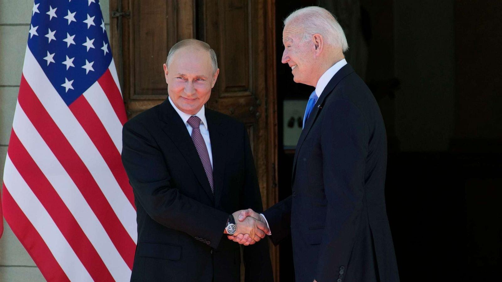 Biden-Putin summit live updates: High-stakes meeting begins