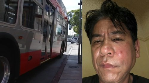 Man punched in the face in brazen attack at San Francisco bus stop