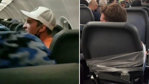 Passenger tied with duct tape after allegedly assaulting flight attendants on Philly-Miami flight