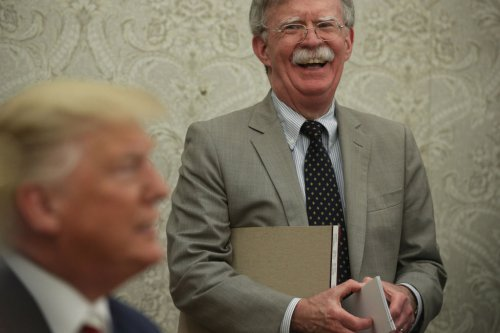 Bolton's Bet Pays Off Bigly
