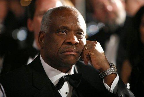 Clarence Thomas Snapchatting 'F*** The First Amendment' To All His Friends