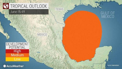 US Gulf Coast put on alert for potential tropical threat