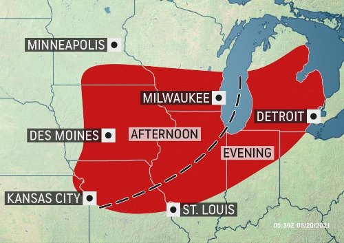 Summer to start with a bang in the Midwest