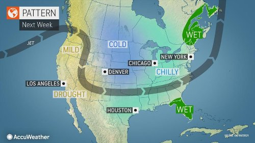 Old Man Winter holds the central U.S. in his icy grip