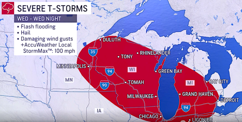 Chicago, Milwaukee metro areas at risk for damaging derecho