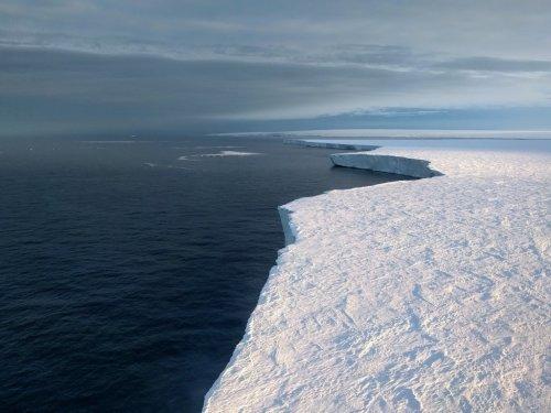 Massive Antarctic glacier accelerating toward the sea as key ice shelf is ripping apart