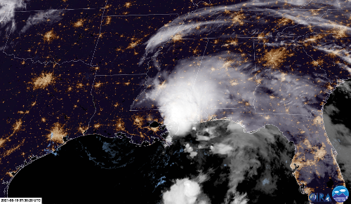 Claudette forms, brings flooding rainfall to Gulf Coast
