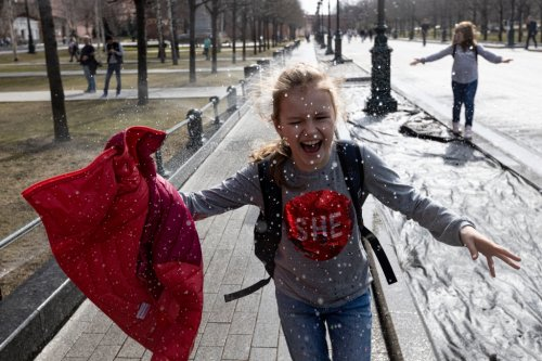 Russian city breaks 140 year old record during surge of summer-like warmth