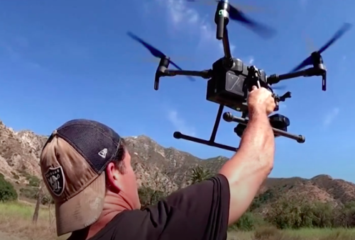 Drone pilot uses innovative approach to aid in disaster recovery