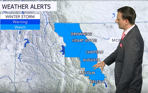 Giant May snowstorm to unload feet of snow in Montana