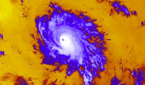 Hurricane Sam strengthens to a Category 4 storm