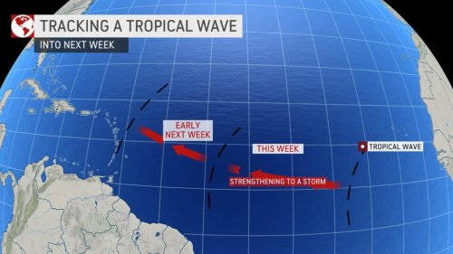 Developing tropical storm could pack a punch