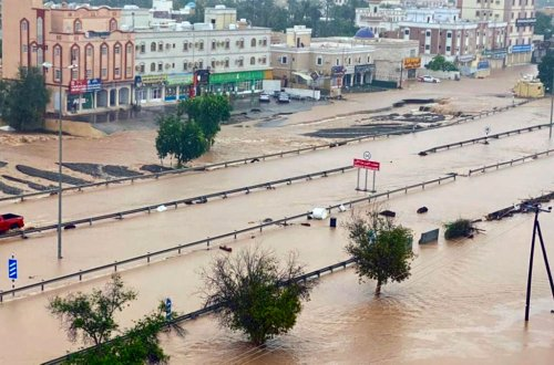 Severe flooding overwhelms Oman following historic landfall by Cyclone Shaheen