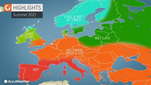 AccuWeather's 2021 Europe Summer Forecast