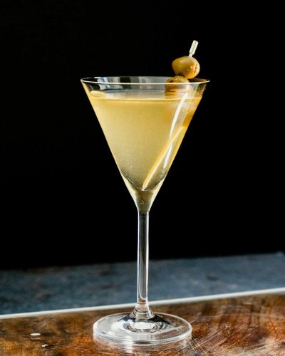 Perfect Dirty Martini – A Couple Cooks