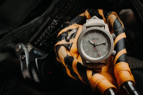 Bremont releases a new version of the MB in Grade 5 Titanium