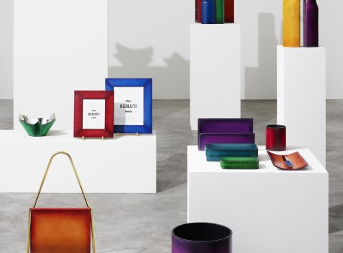 Berluti launches its Home & Office Objects collection