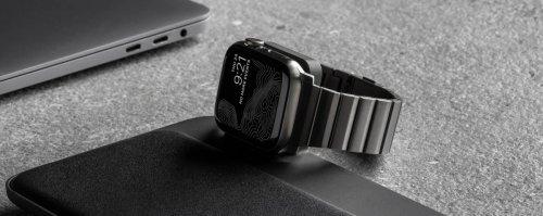 On Sale   Nomad's stunning titanium Apple Watch bracelets are now 30% off