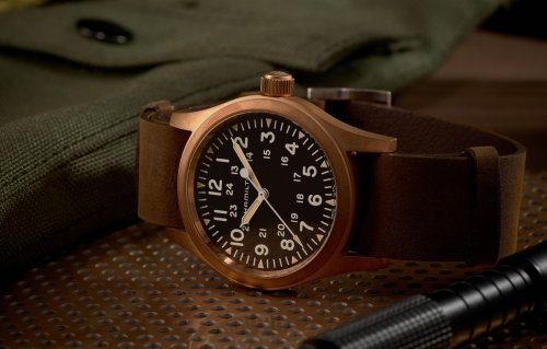 Hamilton's famed Field Watch now comes in bronze