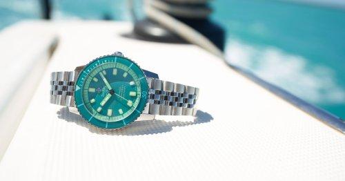 Zodiac's Super Sea Wolf Aquamarine Dream is the perfect summer watch