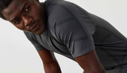 Mack Weldon's Stealth Crew Neck applies body mapping tech to a high-performance workout tee