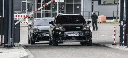 Porsche previews the all-electric Macan