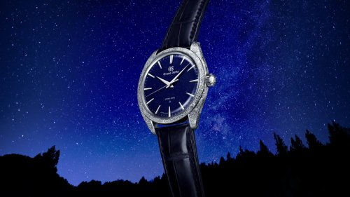 Grand Seiko translates the starry skies of Achi, Japan into a stunning new timepiece