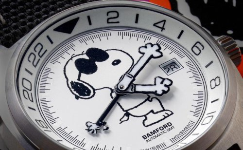 Bamford London, Revolution, and The Rake release a new limited edition Snoopy watch