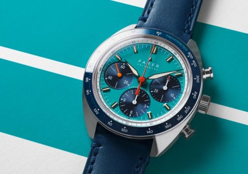 Farer's introduces a colorful new chronograph with the Carnegie