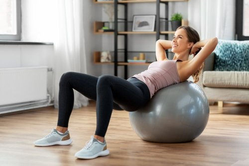 Easy Stability Ball Exercises