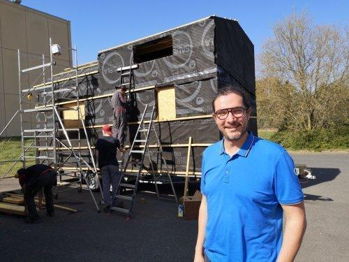 Il veut créer un village de tiny houses solidaires pour les sans abri à Lille