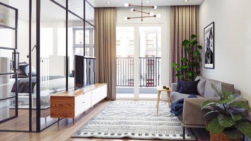 Studio-Apartment: Sechs clevere Einrichtungsideen, die Sie kennen müssen