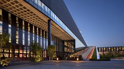 Das neue LeBron James Innovation Center auf dem Nike-Campus verbindet Architektur und Sport