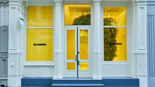 Jil Sander eröffnet neuen Pop-Up-Store in New York – in knalligem Gelb