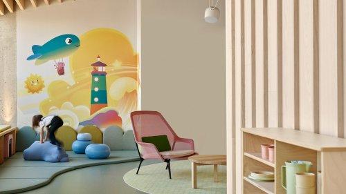Kindergarten in Finnland – Architekturbüro Fyra entwirft bunte Fantasiewelt in Helsinki